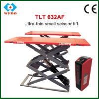 Quality Launch car lift TLT632AF Ultra-thin small scissor lift for sale