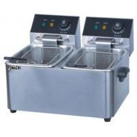 Quality Electric Fryer Table Top 2 Tank 2 Basket  Commercial Electric Fryer FMX-WE263B for sale