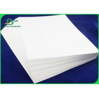 Quality 200 - 400g One Side Coated Glossy  Ivory Paper For Makng Packing Box for sale