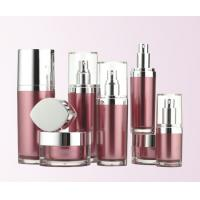 Buy 15ml 30ml 50ml 100ml 120ml cosmetic lotion pump bottle with rhombus shaped at wholesale prices