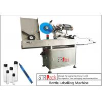 Quality Adhesive Stickers Horizontal Labeling Machine , Vial Ampoule Syringe Labeling Machine  for sale