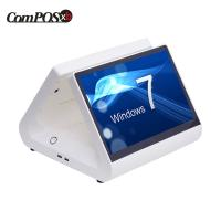 Buy 12 Inch All In One Touchscreen POS Terminal White J1900 CPU For Restaurant at wholesale prices