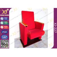 Quality Red Fabric Auditorium Hall Theatre Seating Living Room Furniture for sale