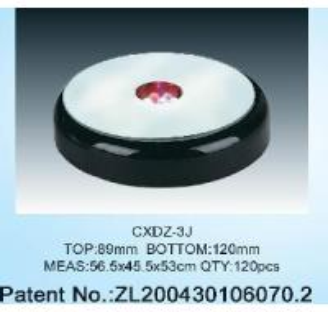 Quality Crystal LED Light Base (CXDZ-3J) for sale