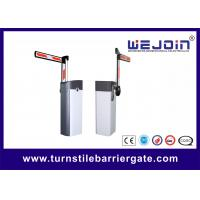 China 90 degree square folding arm electronic barrier gates on sale