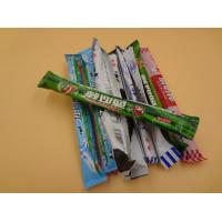 Quality Big Long Colorful Sweet Chewy Milk Candy Mixing Fruit / Chocolate No Carb for sale