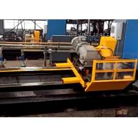 Quality Stable performance servo motor tube cold cut flying saw machine for metal forming for sale