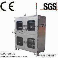 Quality Electronic Desiccant Stainless Nitrogen Dry Box for security storage for sale