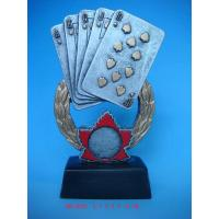 Quality polyresin gambling trophy for sale