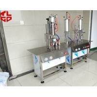 Quality Semi Automatic Aerosol Can Filling Machine For Anti Rust Spray / Mould Release Spray for sale