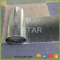 Quality Double Aluminium Foil Heat Reflective Material Heat Insulating Bubble Material for sale