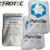In bags of 25kg well done in water soften C-100E Purolite Resin for sale