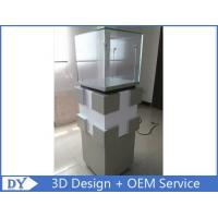 Quality Manufacturer supplier modern simple style glass display cabinets with custom size for sale