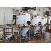 Quality 1500L Conical Beer Fermenter , Stainless Steel Fermentation Tanks for sale