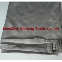 Quality High elastic two side stretch Spandex silver fiber fabric for pregnant for sale