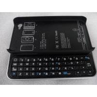 Sliding / Standing Iphone 4 / 4S Bluetooth Keyboards V3.0 + EDR Case with Back Light for sale