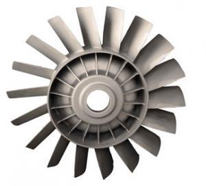 Quality Durable Precision Casting Parts Reliable Zinc Turbine Blade for sale