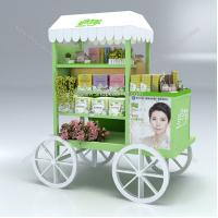 Quality Cosmetic product display stands,cosmetics display design showcase for sale