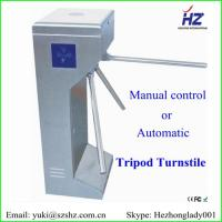 Buy Customized optional pedestrian electronic tripod turnstile barrier gate at wholesale prices