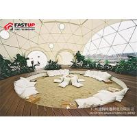 Buy Diameter 8 M Aluminum Frame Geodetic Dome Tents For Outdoor Gazebo at wholesale prices