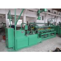 Quality High Efficiency Chain Link Fence Machine Full Automatic PLC Control With Servo Motor for sale