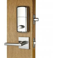 Buy Hotel Electronic Door Lock Zinc Alloy Handleset For Keyless RFID Card at wholesale prices