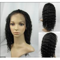 Quality African American Natural Human Hair Wigs Natural Looking 10 Inch for sale