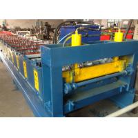 Quality Sheet Cold Roll Forming Machine High Strength Metal Floor Steel Decking for sale