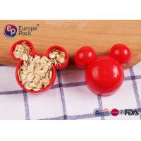 Quality Mickey Mouse Cookie Cutter Plastic Kitchenware 11G For Children 6.2Cm for sale