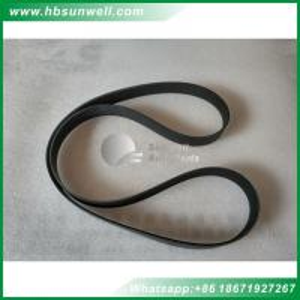 Quality Cummins diesel engine parts ISBe ISDe QSB ribbed belt 6BT 8pk1615 fan belt 3289001 for sale