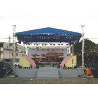 Buy cheap Aluminum Space Stage Lighting Truss Structure 4 Pillar Truss Stand For Concert from wholesalers