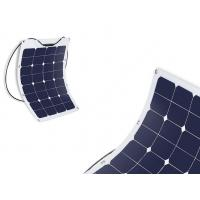 Quality Durable Semi Flexible Marine Solar Panels Commercial For Camping / Portable Bag for sale