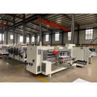 Quality Model 2200 X 800 Corrugated Paperboard Automatic Slotter And Creaser Machine  / Diameter 270 mm for sale