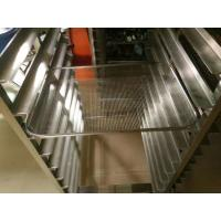 Quality Bakery Display Stainless Steel Tray Rack Trolley For The Oven Chamber for sale