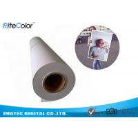 Quality 240gsm Aqueous RC Luster Photo Paper / Inkjet Photo Paper Roll for sale
