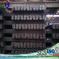 Quality Construction Materials Light Steel Rail 92mm Botton Width For Temporary Transport Line for sale