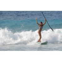 Quality Portable Sport Equipment Inflatable Standing Paddle Board , Inflatable Race Sup for sale