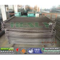 Quality crimped wire mesh, crimped wire mesh with hook, crimped wire mesh for mine for sale
