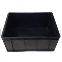 Quality Black Conductive Glossy Lamination ESD Packing Box For Electronics for sale
