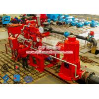 Quality 2 stage Multistage Vertical Turbine Fire Pump Sets With Firefighting Diesel Engine Driven With 500 Usgpm for sale