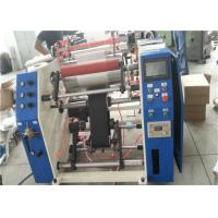 Quality Dotted Line Stretch Film Rewinding Machine With Tear Line Of Rolls for sale