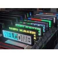 Quality Electronic Advertising  Programmable Scrolling LED Sign 16 x 32 Dot Matrix for sale