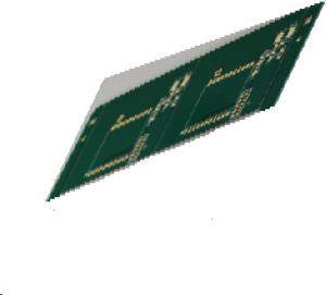 Quality FR4 Tg180 1.35mm Thickness Lead Free Board Impedance Conrol Board For LCD Display for sale