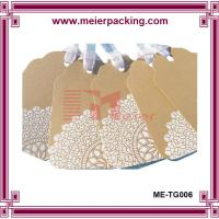 Quality White design kraft paper hang tags, apparel paper tags, shoe paper hang tags ME-TG006 for sale