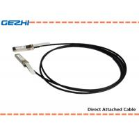 Quality 10G SFP+ to SFP+ DAC Cables Direct Attach Passive Copper Cable For Storage Area Networks for sale