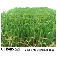 Buy Olive Shaped Monofilament Realistic Artificial Grass Soft Touch Natural Looking at wholesale prices