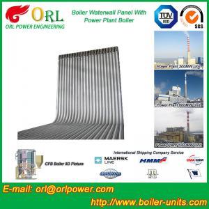 Quality Steel Water Heat Boiler Water Wall , Waterwalls High Temp TUV Certification for sale