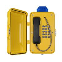 Quality IP67 Industrial Weatherproof Telephone With Beacon , PoE Powered Tunnel Phone for sale