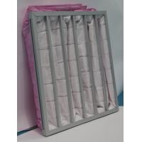 Buy cheap Polyester Ahu 3500m³/h Pocket Air Filter from wholesalers