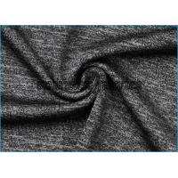 China Heather Cotton Lycra Knit Fabric , Stretch Space And Moisture Absorption Dyed Fabric on sale